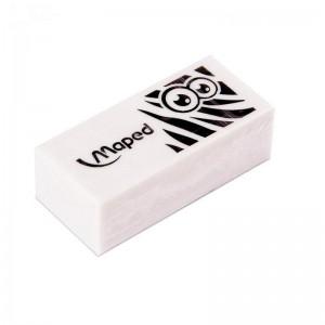 Gomme blanche Scolaire MAPED Mini Technic Pulse Display Zebra