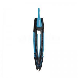 Kit Compas Etudiant MOBS CO-0602 en Boite PP, Double usage + recharge mine + crayon