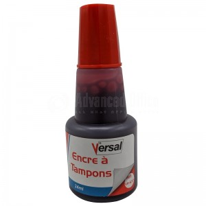 Encre à tampon VERSAL Rouge VR-637