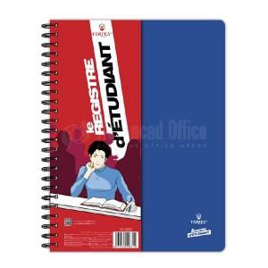 Registre d'étudiant VERTEX VS-0352 200 pages