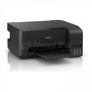 Imprimante Multifonction Jet d'encre EPSON EcoTank L3150 MEAF, Couleur, A4, 33ppm/15ppm, USB, WiFi et WiFi Direct, Noir, (5 Bouteilles inclues)