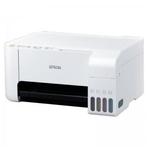 Imprimante Multifonction Jet d'encre EPSON EcoTank L3116, Couleur, A4, 33ppm/15ppm, USB, Blanc