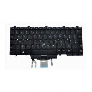 Clavier qwerty DELL pour laptop DELL Latitude 5490 7490