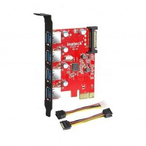 Carte PCI Express USB 3.0 4 Ports