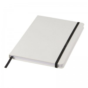 Notebook A5 Blanc avec Bande élastique