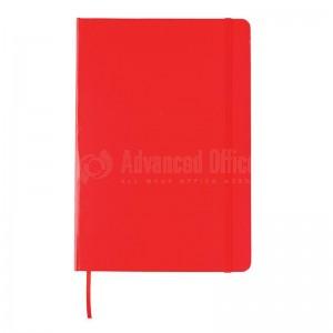 Notebook A5 Rouge avec Bande élastique