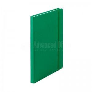 Notebook A5 Vert avec Bande élastique