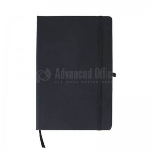 Notebook A5 Noir avec Bande élastique