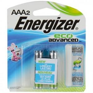 Jeu de 2 piles ENERGIZER Advanced R3 AAA