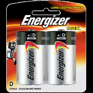 Jeu de 2 piles ENERGIZER D LR20