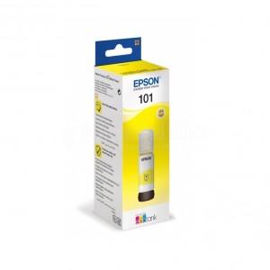 Bouteille d'encre EPSON 101 EcoTank Yellow pour ITS L6170/ L4160/ L4150/ L6190/ L6160, 70ml