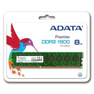 Barrette de mémoire ADATA DDR3 8Go 1600Mhz