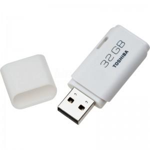 image. Flash disque TOSHIBA TransMemory U202 32Go USB 2.0, Blanc  -  Advanced Office