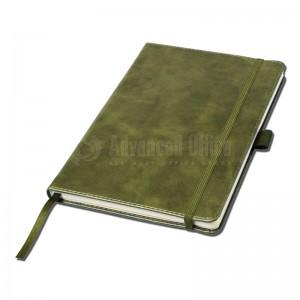 Notebook A5 Jaune moutarde couverture rigide en simili cuir de 192 pages  -  Advanced Office Algérie