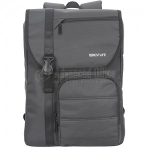 "Sac à dos porte PC BESTLIFE BB-3212R2-BK 15.6"" Gris  -  Advanced Office"