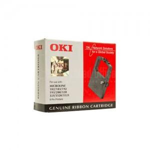 Ruban OKI 09002303 Noir pour Microline 182/183/192/193/280/320