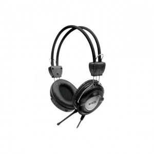 Casque microphone A4TECH ajustable Gris