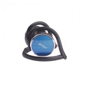 Casque de communication avec microphone A4TECH T-120, compact et ergonomique, son HD, Bleu