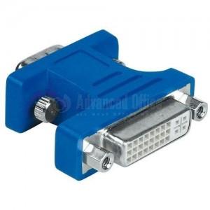 Adaptateur DVI-femelle/VGA-femelle