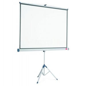 Ecran de projection Mural NOBO 175 x 132.5 Cm Blanc mat  -  Advanced Office