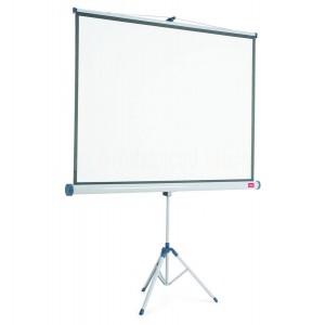 Ecran de projection Mural NOBO 175 x 132.5 Cm Blanc mat  -  Advanced Office