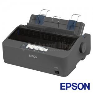 Imprimante matricielle EPSON LX-350, 9 aiguilles, 80 Colonnes  -  Advanced Office