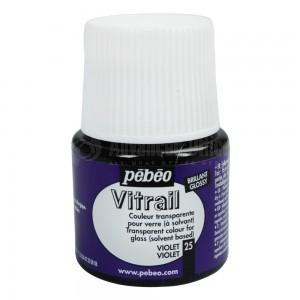 Flacon de peinture PEBEO vitrail 45 ml Violet
