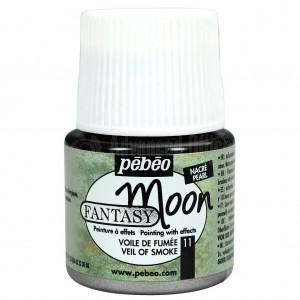 Flacon de peinture PEBEO Fantasy Moon de 45ml Voile Fume