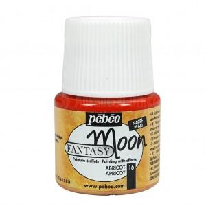 Flacon de peinture PEBEO Fantasy Moon de 45ml Abricot