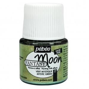 Flacon de peinture PEBEO Fantasy Moon de 45ml Vert Mystique