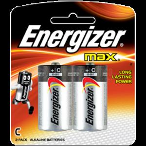 Jeu de 2 piles ENERGIZER C LR14