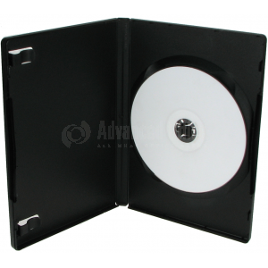 Boitier CD en PVC noir