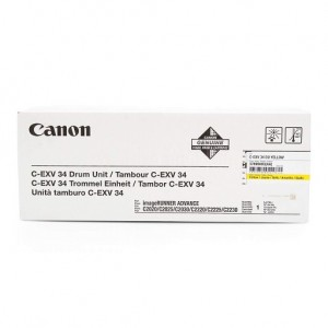 Kit tambour jaune CANON C-EXV34 pour imprimantes Canon imageRUNNER ADVANCE C2020/C2030