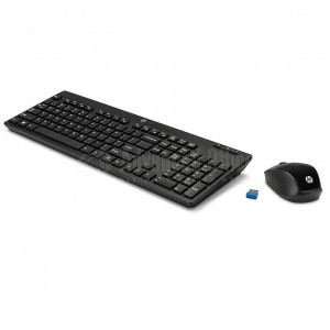 Kit Clavier souris sans fil HP 200 Qwerty