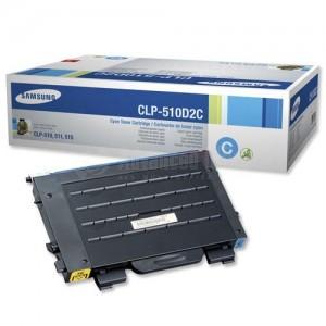 Toner SAMSUNG 510D2C Cyan pour CLP-510 series