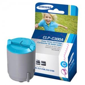 Toner SAMSUNG C300A Cyan pour CLP-300/CLX-2160/CLX-3160
