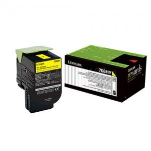 Toner LEXMARK 708h Yellow pour CS310/CS410/CS510 haute capacité