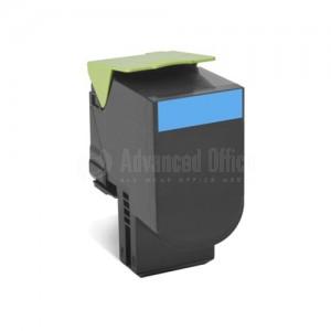 Toner LEXMARK 808h Cyan pour CX410/CX510 haute capacité
