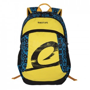 "Sac à dos porte PC BESTLIFE BSB-3292BU 15.6"" Jaune Bleu  -  Advanced Office"
