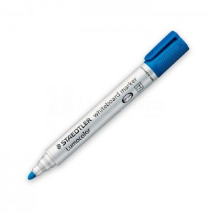 Marqueur pour tableaux blancs STAEDTLER Lumocolor 351 Rond Bleu