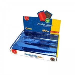 Protège Cahier TP GM VERTEX VS-0205 Bleu Transparent