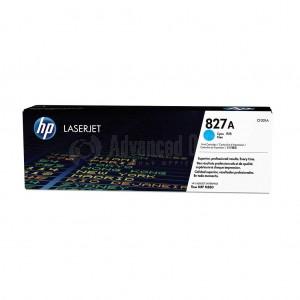 Toner HP LaserJet 827A Cyan pour M880z/M880z+/ M880z+ NFC