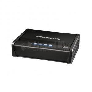 Coffre fort portable SENTRY SAFE à clé PP1K avec câble de sécurité pour Pistolet 8,3 x 28.7 x 35.4cm 3.4Kg 2.8L