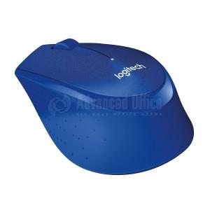 Souris sans fil LOGITECH M330 Silent Plus Bleu