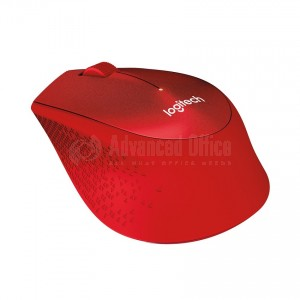 Souris sans fil LOGITECH M330 Silent Plus Rouge