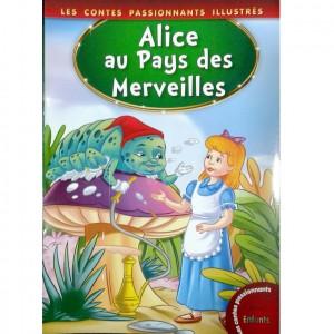 """Livre Badr Kids Les contes passionnants pour enfants """"Alice au Pays des Merveilles"""""""