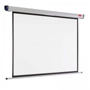 Ecran de projection Mural NOBO 150*104 CM Blanc mat  -  Advanced Office