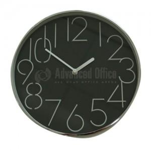 Horloge murale 30CM Noir
