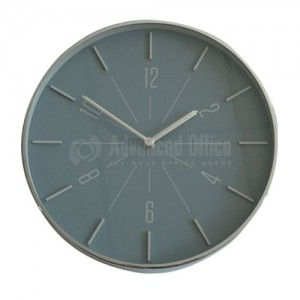 Horloge murale 30CM Gris