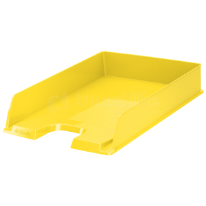 Bac à courrier ESSELTE Europost jaune translucide